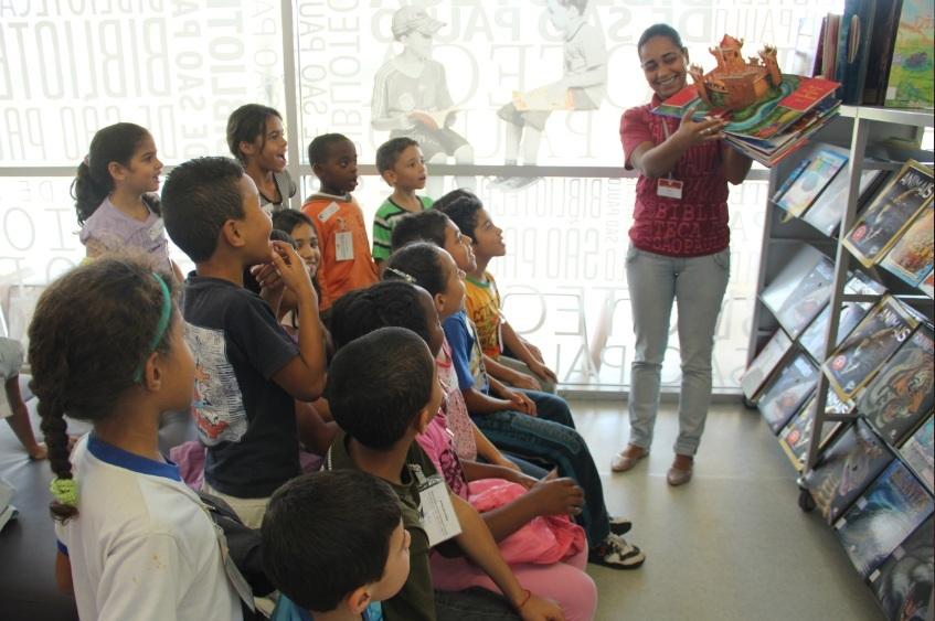 Visita monitorada - Centro para Crianças e Adolescentes Jova Rural