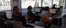 foto do curso de informática no modulo basico para pessoas com mais de 60 anos
