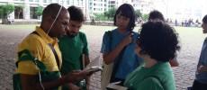 26.09 - Flashmob Literario - Ler move o mundo - Equipe BSP 4