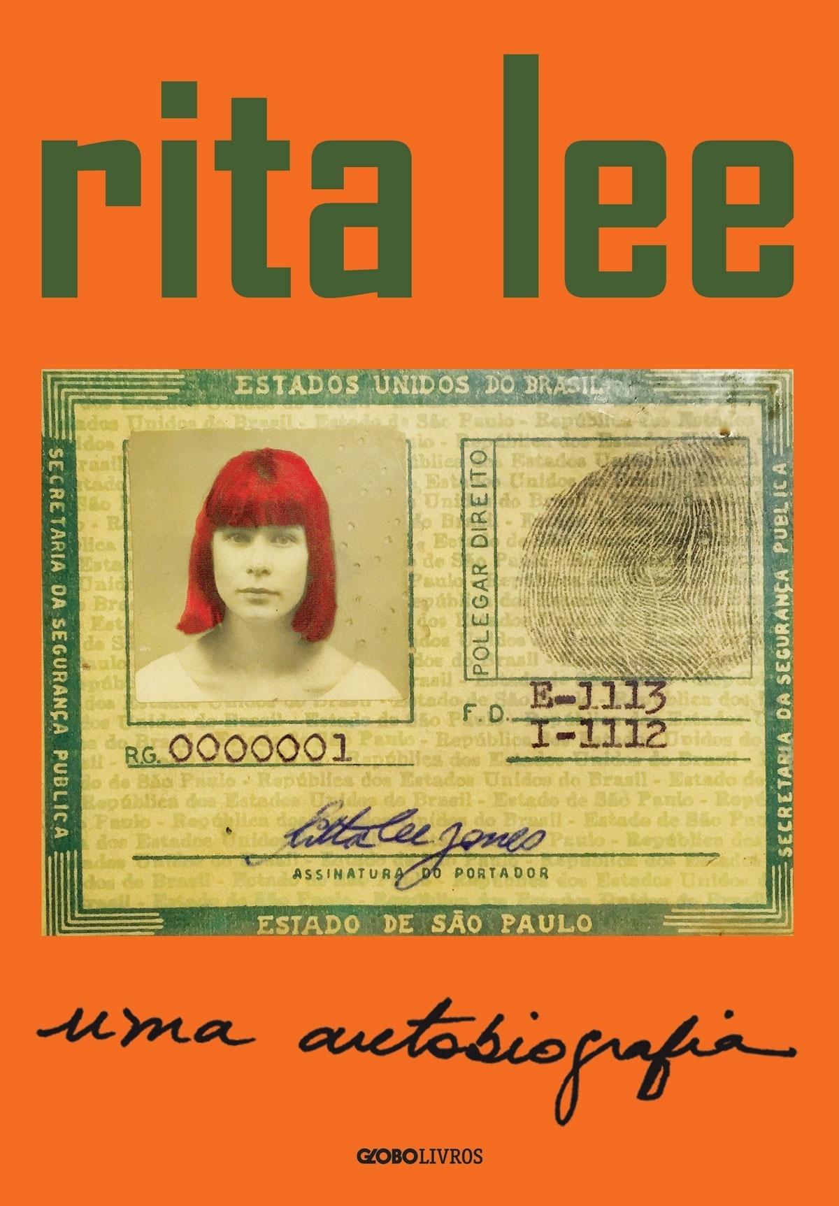 Capa autobiografia Rita Lee