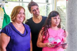Categoria Programação Cultural // Laura Kamê Cazzoli Y Goya e a mãe Samara Cazzoli
