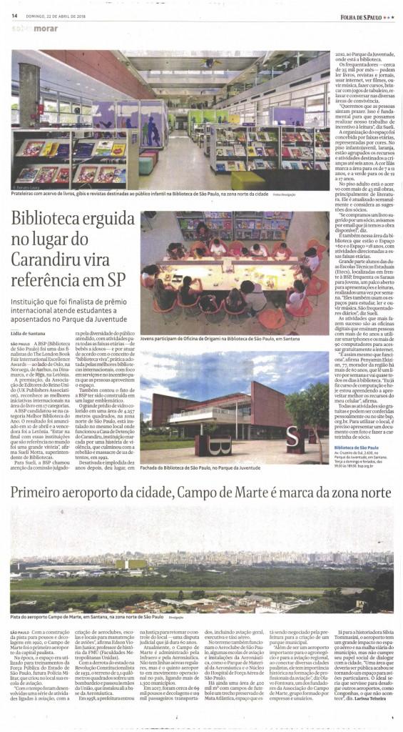 Reprodução - Folha de S.Paulo