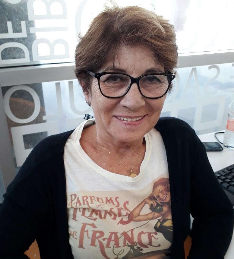 Maria de Lourdes da Silva. Foto: Equipe SP Leituras