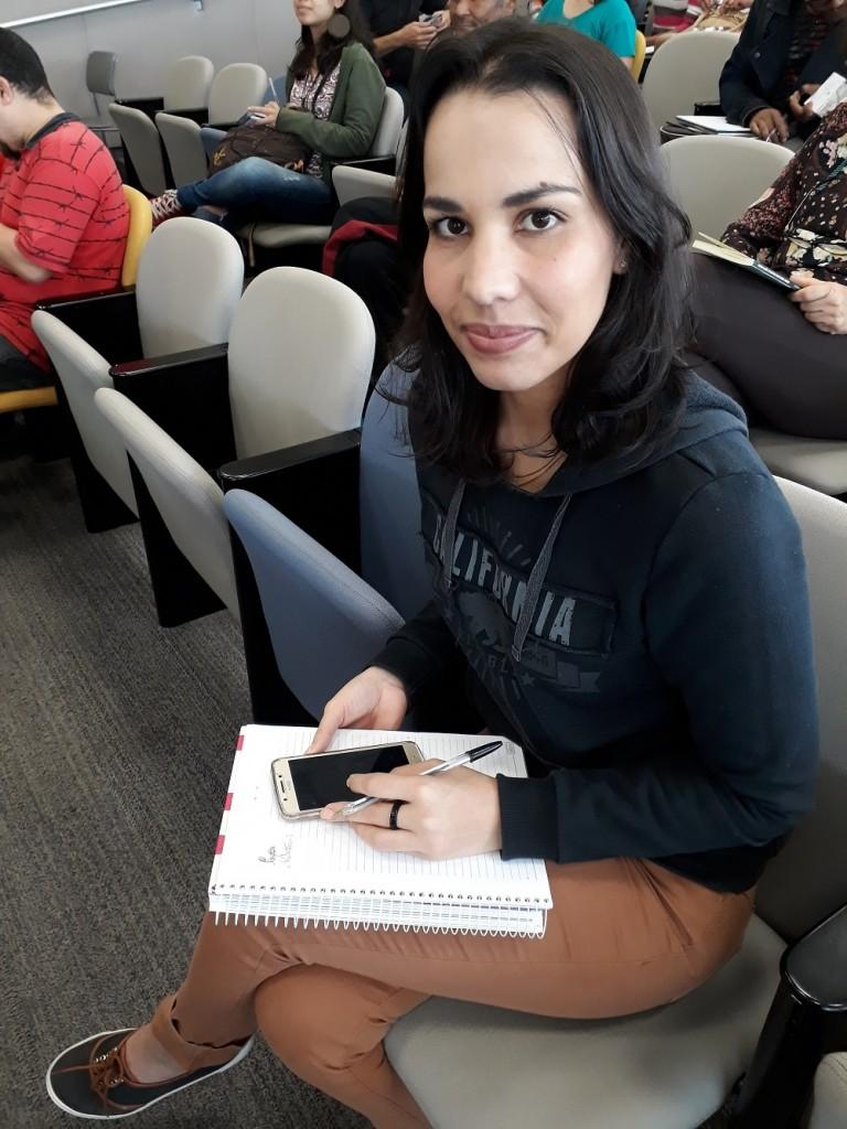 Irenilda, pedagoga.Foto: Equipe SP Leituras.