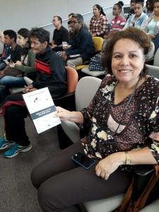 Silvana , funcionária pública. Foto: Equipe SP Leituras.