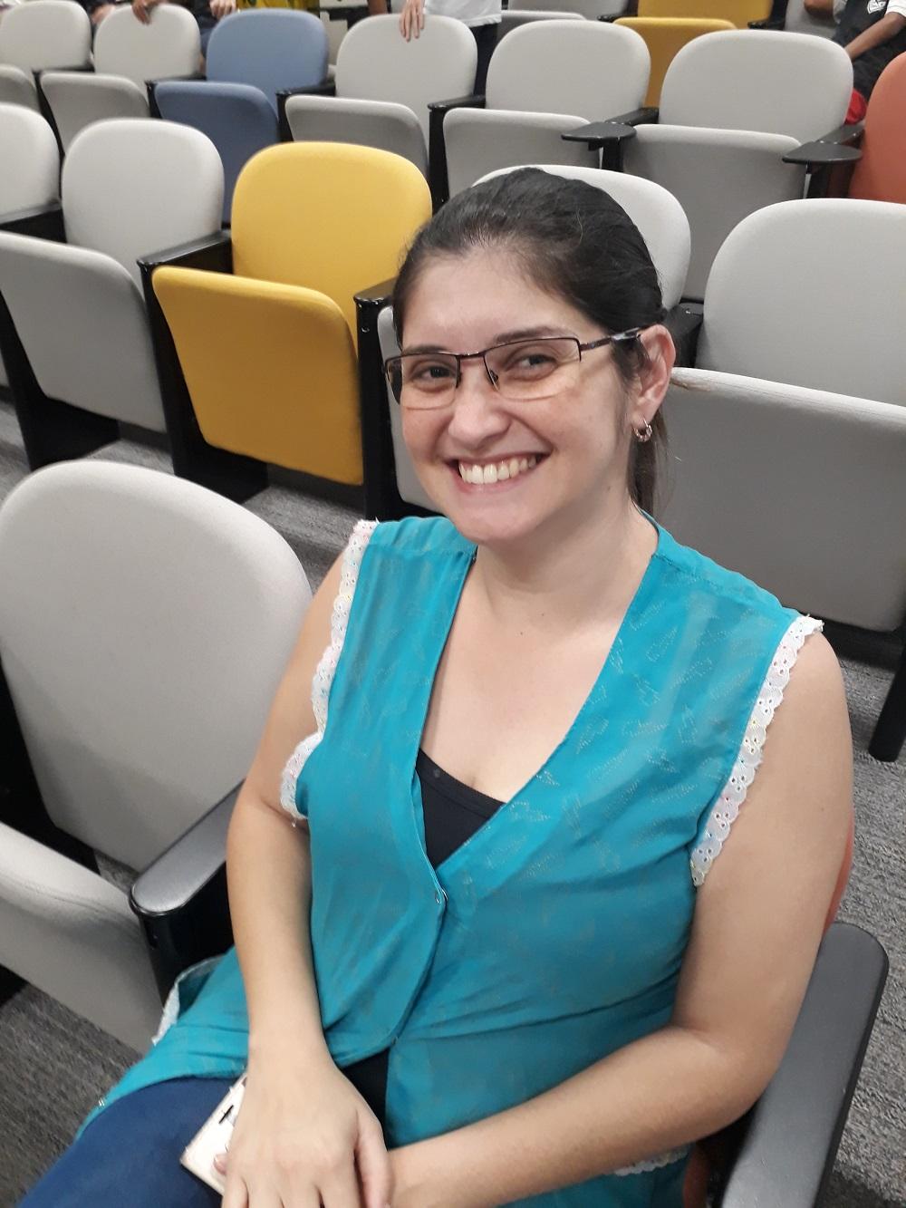 Kátia Cristina Alves de Souza, professora. Foto: Equipe SP Leituras.