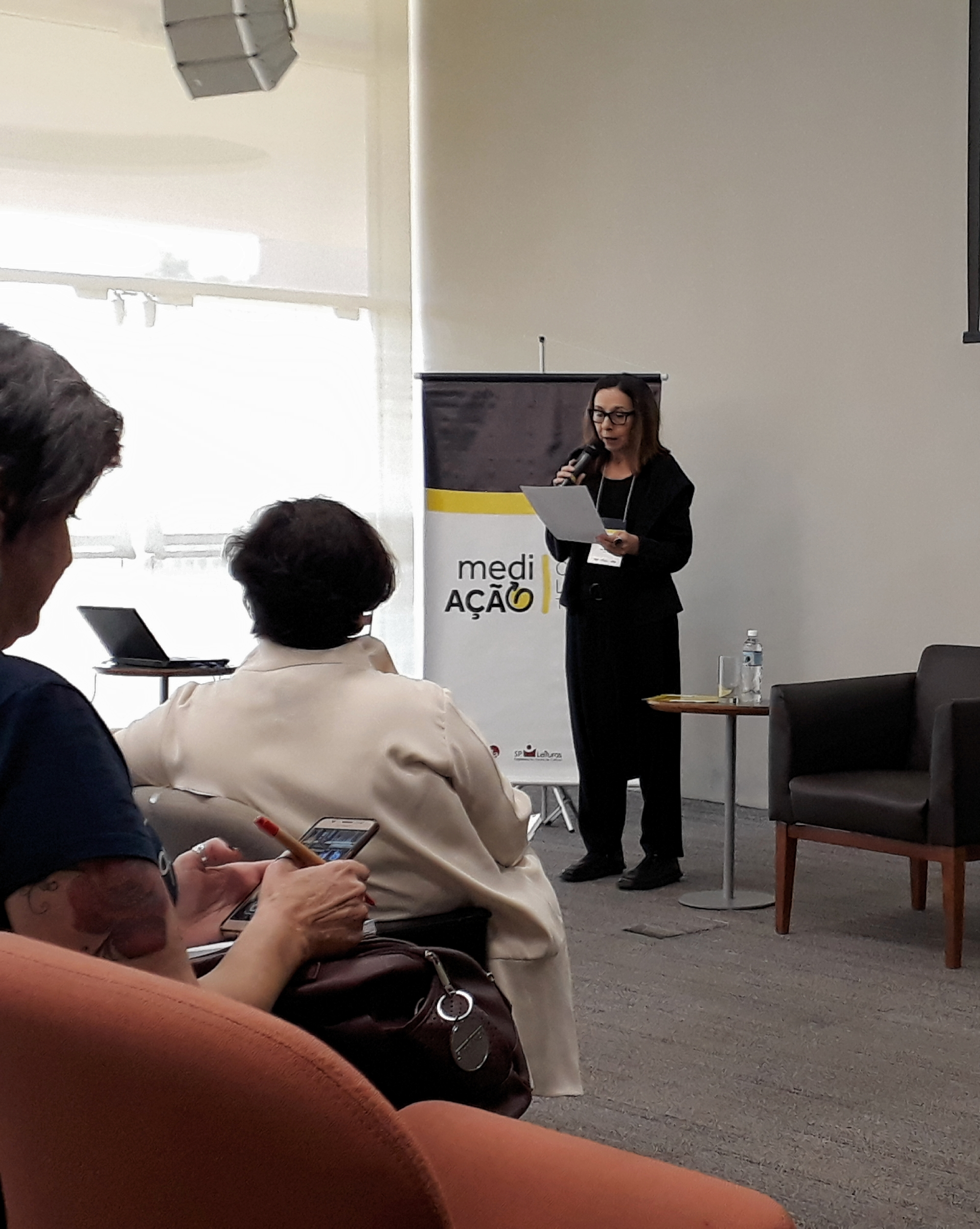Dolores Prades, da revista Emília. Foto: Equipe SP Leituras.