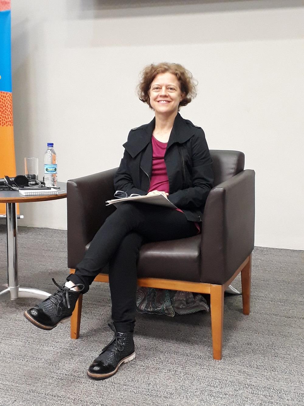 María Emília Lopez, especialista argentina. Foto: Equipe SP Leituras.