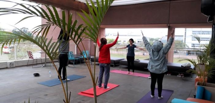 Yoga ganha novo espaço para prática em estreia na BSP