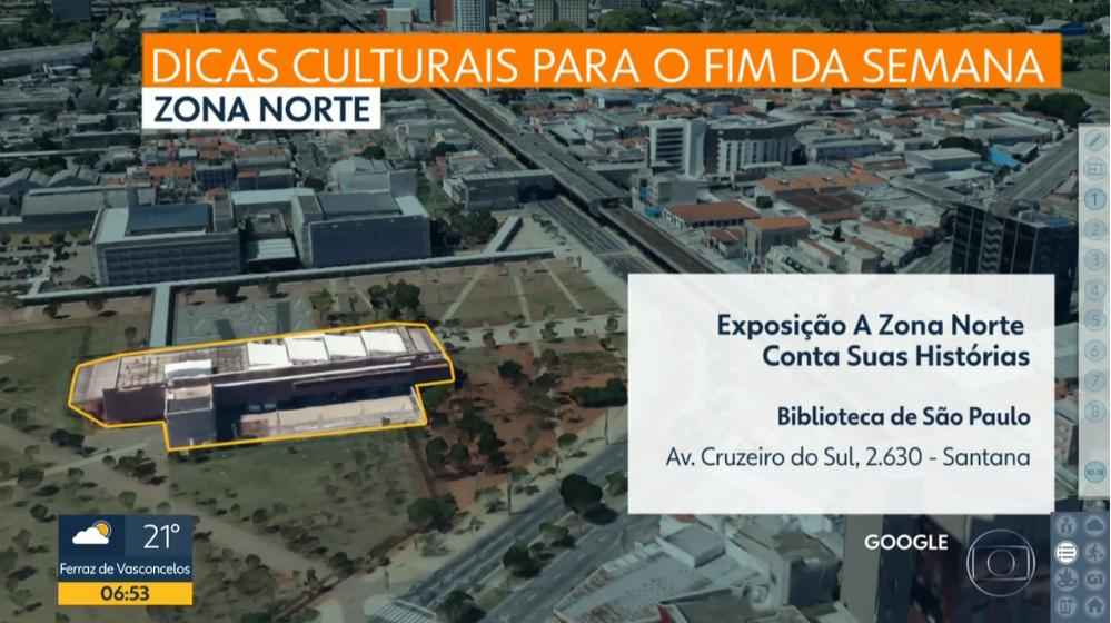 Reprodução / Programa Bom Dia São Paulo / TV Globo