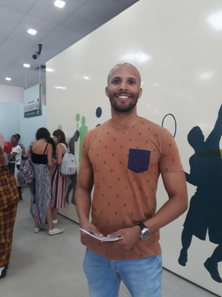 Bruno. Foto: Equipe SP Leituras.