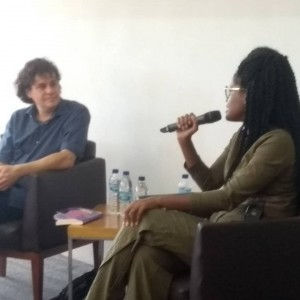 Segundas Intenções. Manuel da Costa Pinto e Djamila Ribeiro. Foto: Equipe SP Leituras.