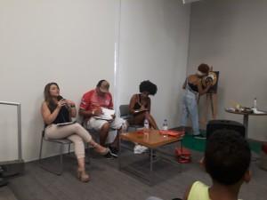 Os jurados. Foto: Equipe SP Leituras.