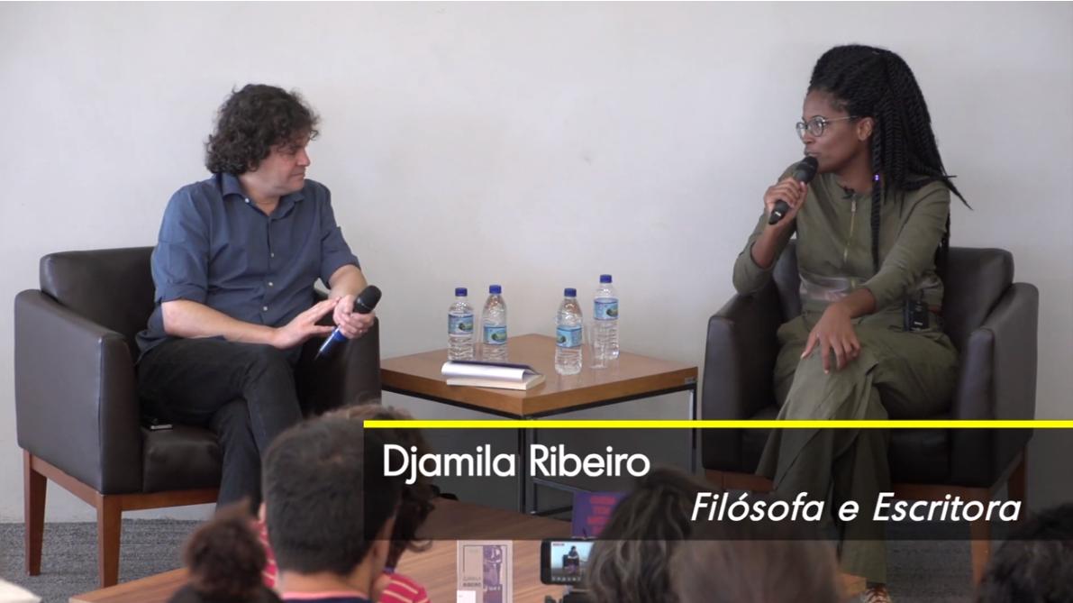 Manuel da Costa Pinto e Djamila Ribeiro no Segundas Intenções de fevereiro, na BSP.