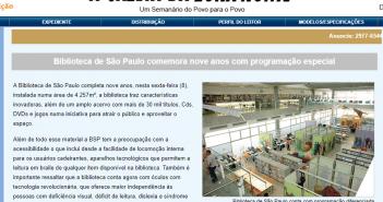 Gazeta da Zona Norte / site.