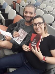 Wagner e Marcela. Foto: Equipe SP Leituras.