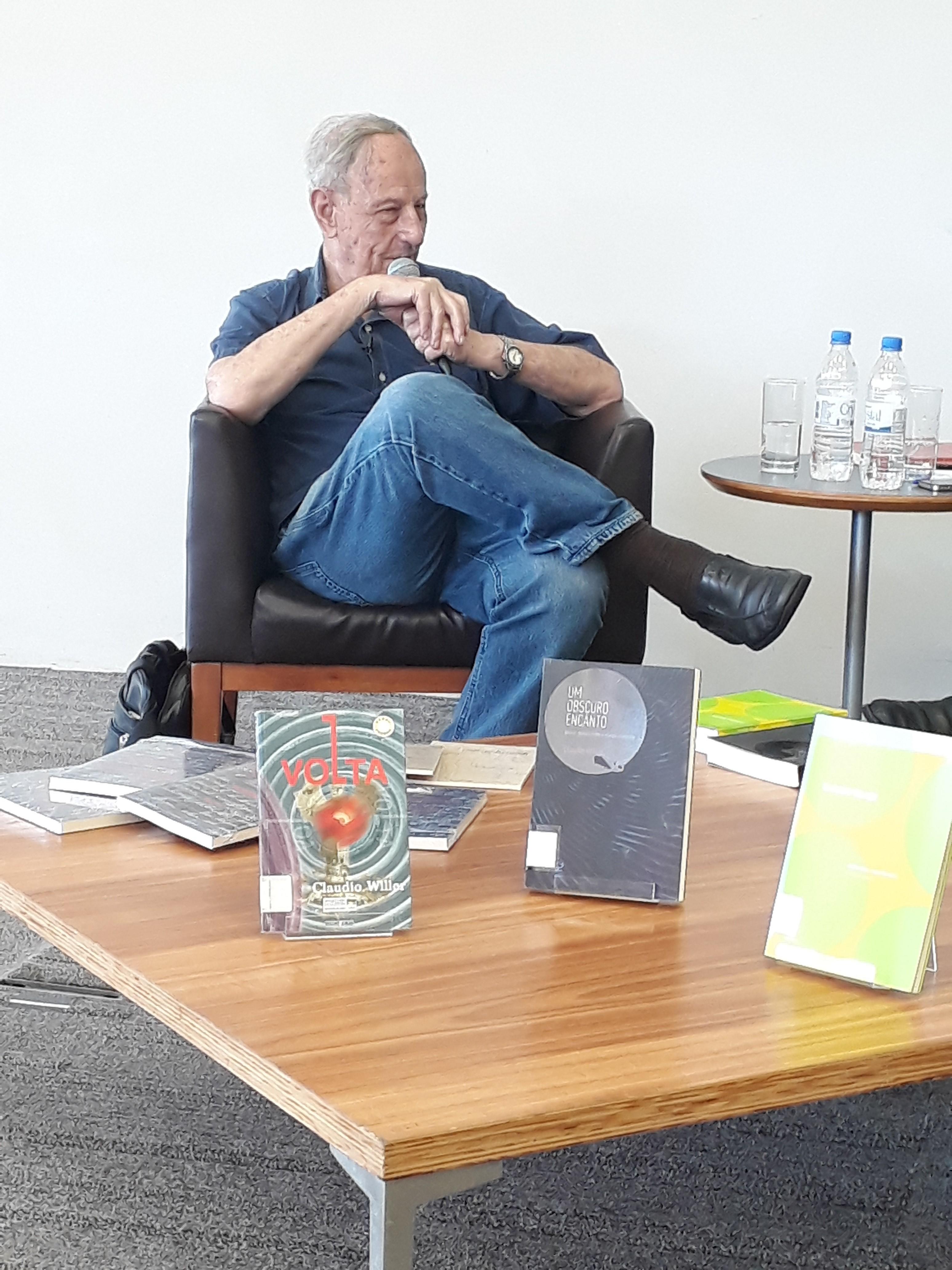 Claudio Willer. Foto: Equipe SP Leituras.