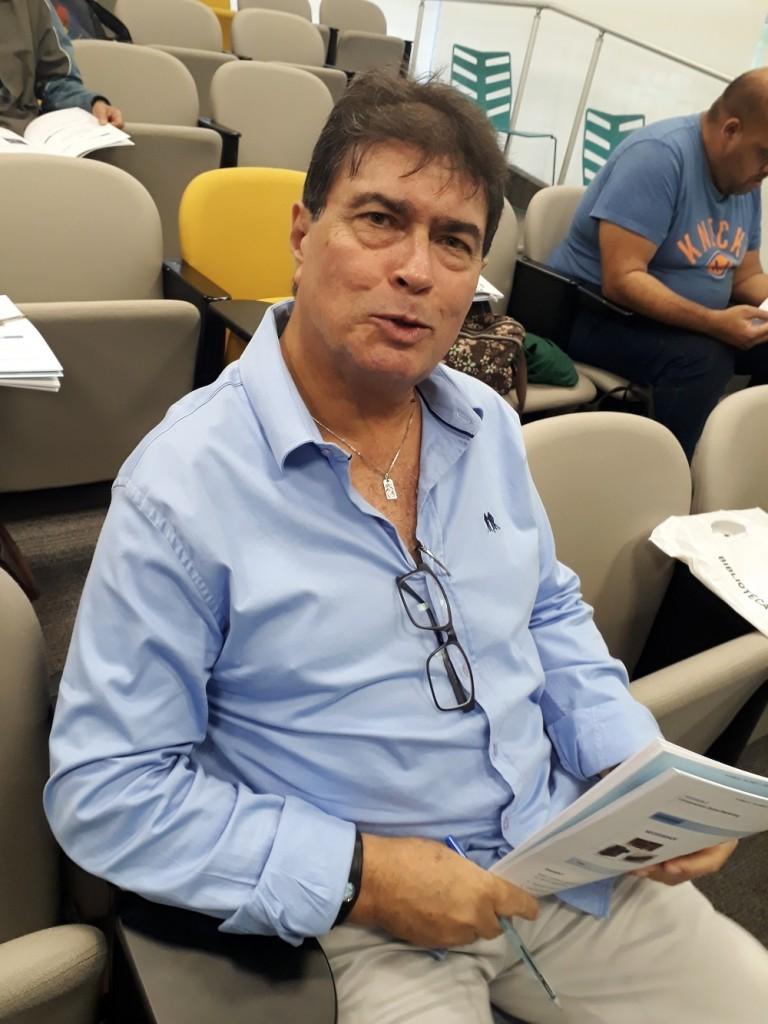 Paulo Afonso São Felippe, corretor e auditor de imóveis. Foto: Equipe SP Leituras.