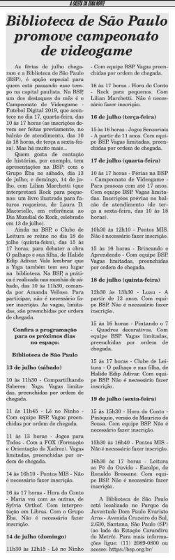Reprodução / A Gazeta da Zona Norte