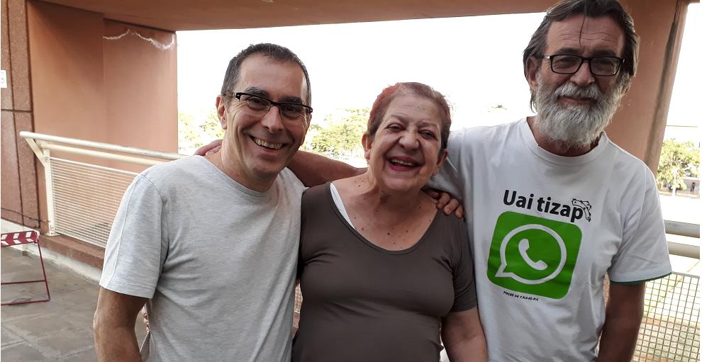 Zeca Nolf, Ivana Arruda e Marlind Freitas. Foto: Equipe SP Leituras.