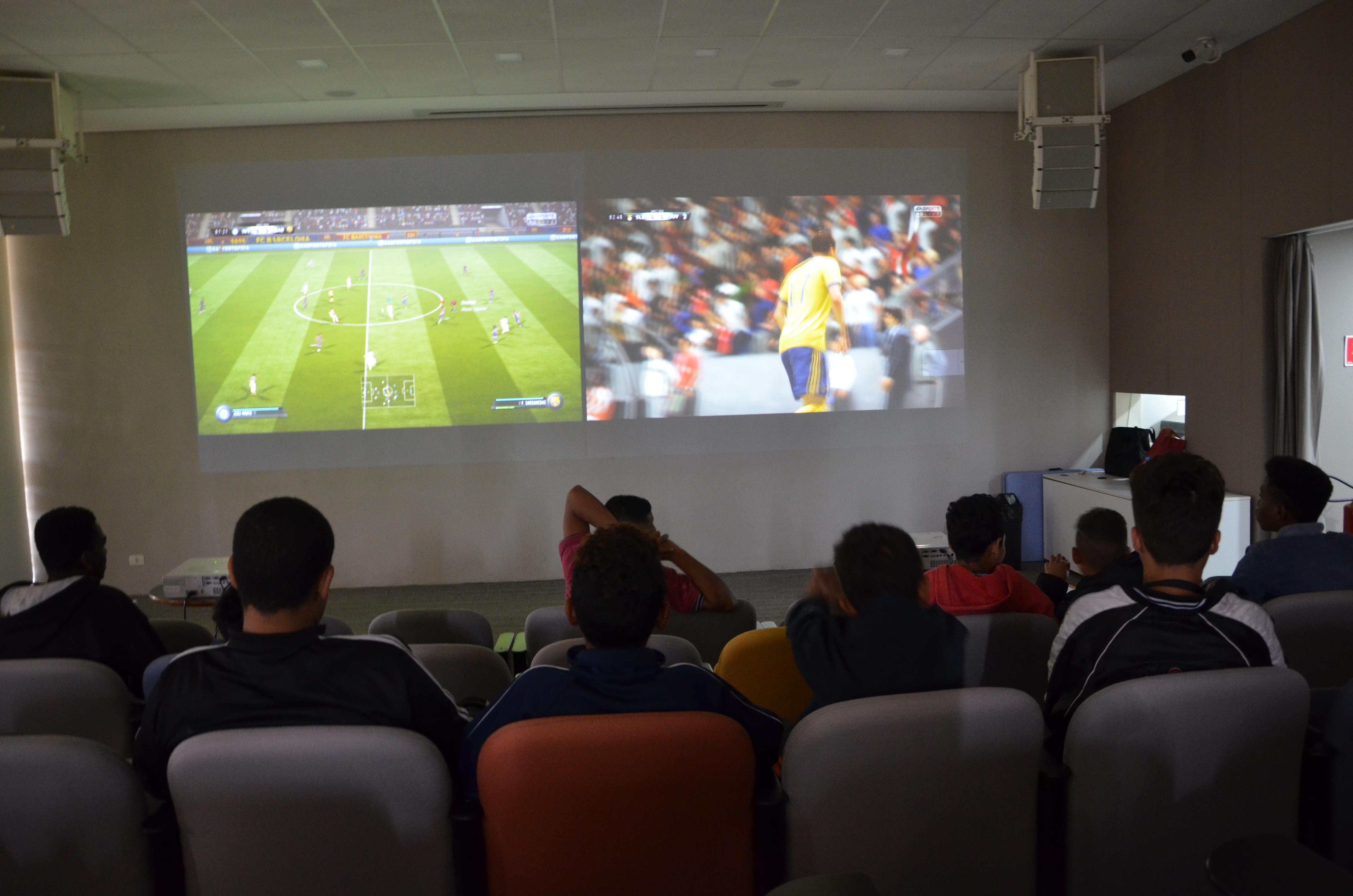 Campeonato de Futebol Digital. Foto: Equipe SP Leituras.