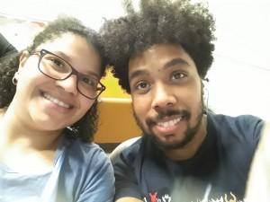 Stephany e Edson.