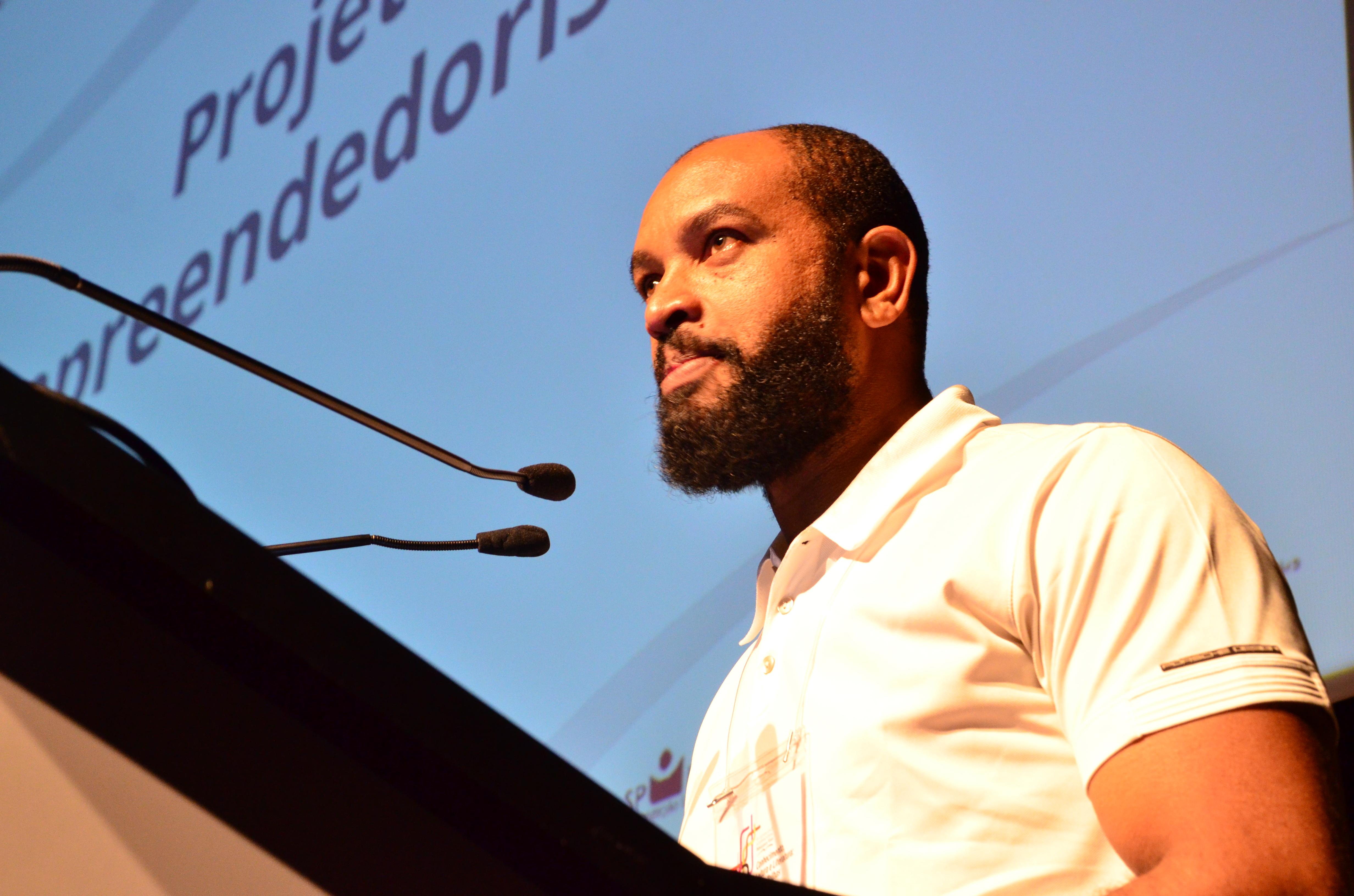 Genésio Manoel, gerente de Programação e Produção da SP Leituras. Foto: Equipe SP Leituras.