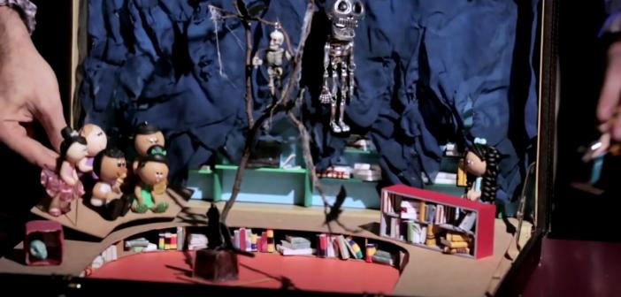 Vídeo da série Bibliotecas Fantásticas aposta em lugar mal-assombrado