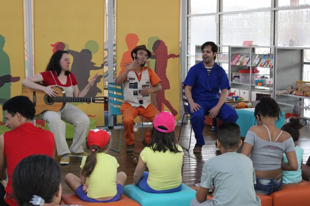 Cia de Teatro Nóis na Mala. Foto: Equipe SP Leituras.