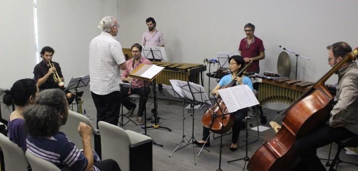 """Percorso Ensemble faz """"showcerto"""" em apresentação do Projeto Vespertino"""