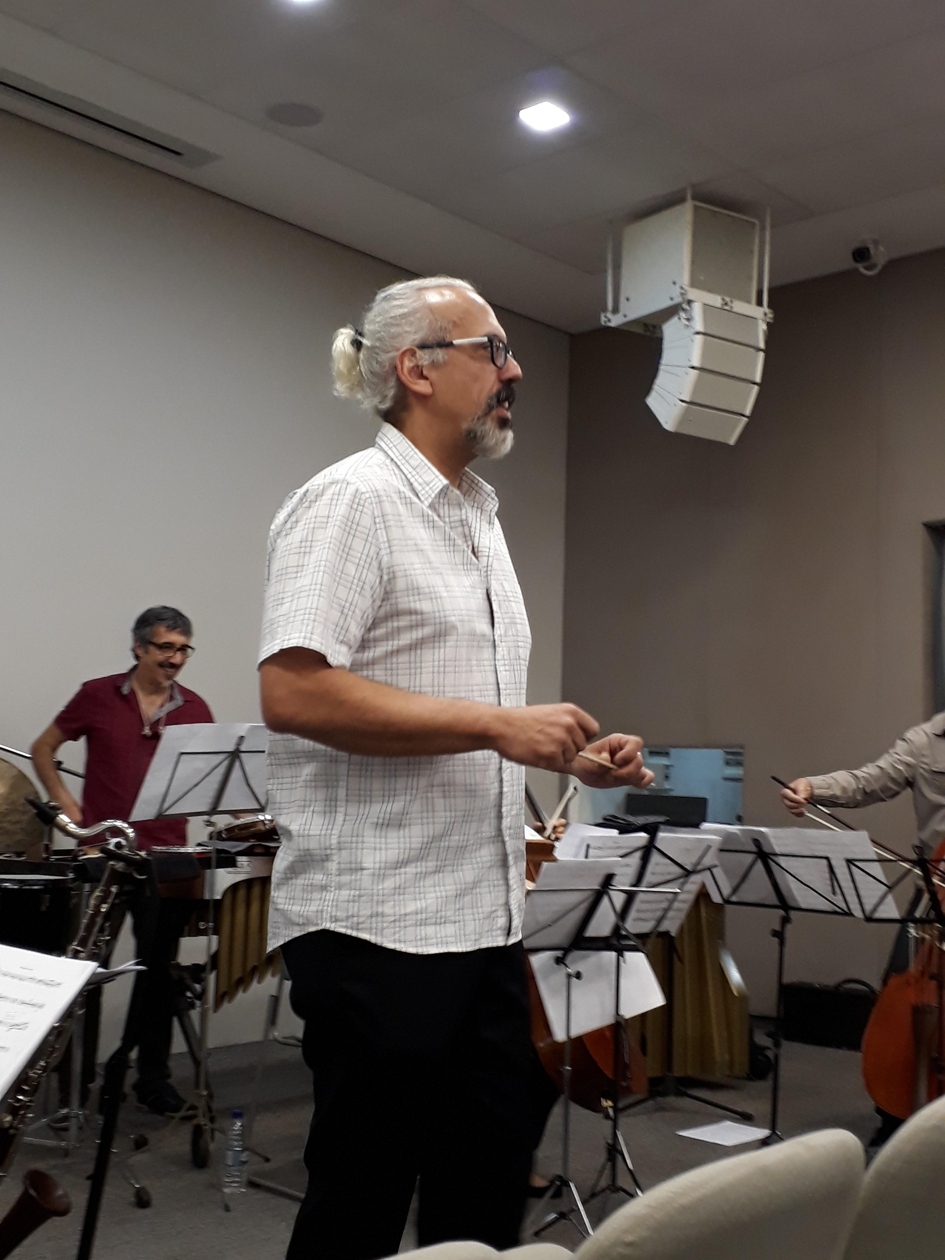 Ricardo Bologna. Percorso Ensemble. Foto: Equipe SP Leituras.
