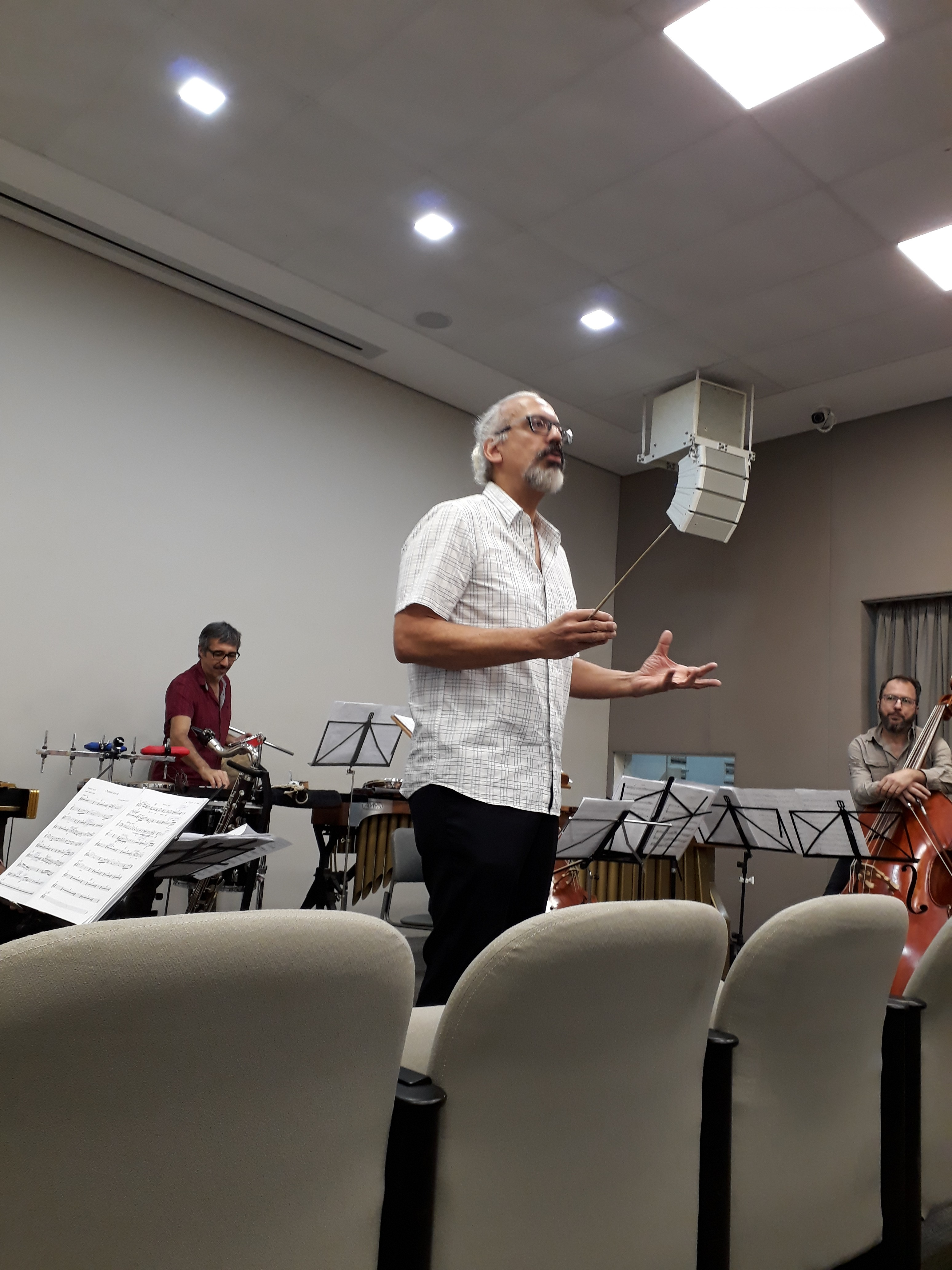 Ricardo Bologna Percorso Ensemble. Foto: Equipe SP Leituras.