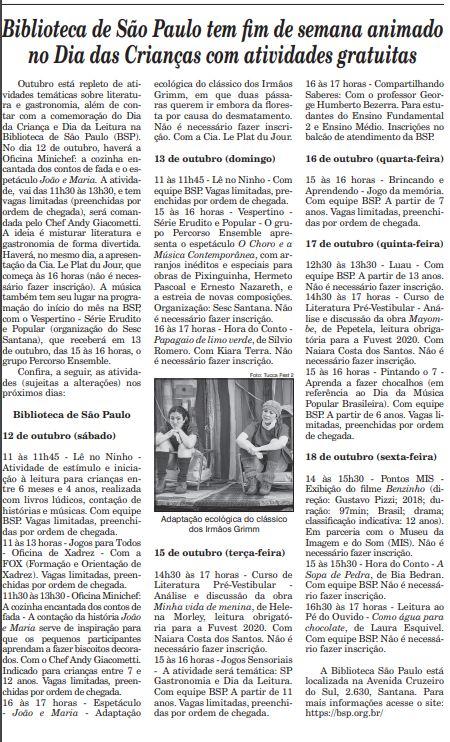A Gazeta da Zona Norte. Foto: Reprodução.