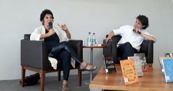 Betty Milan e Manoel da Costa Pinto. Foto: Equipe SP Leituras.