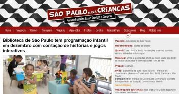 São Paulo para Crianças / Reprodução.