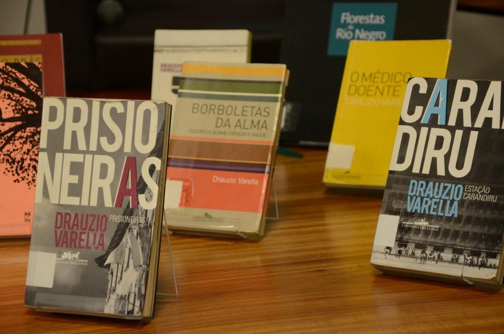 Os livros de Drauzio Varella. Foto: Equipe SP Leituras