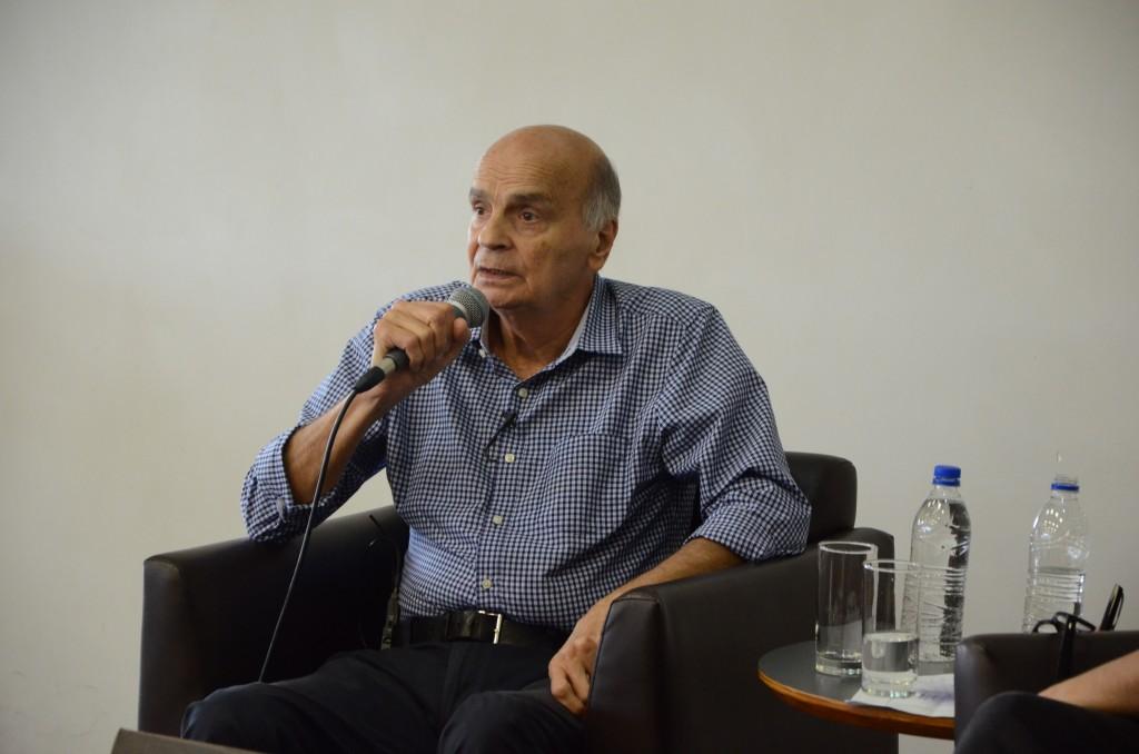 Drauzio Varella no bate-papo especial em comemoração aos 10 anos da BSP. Foto: Equipe SP Leituras