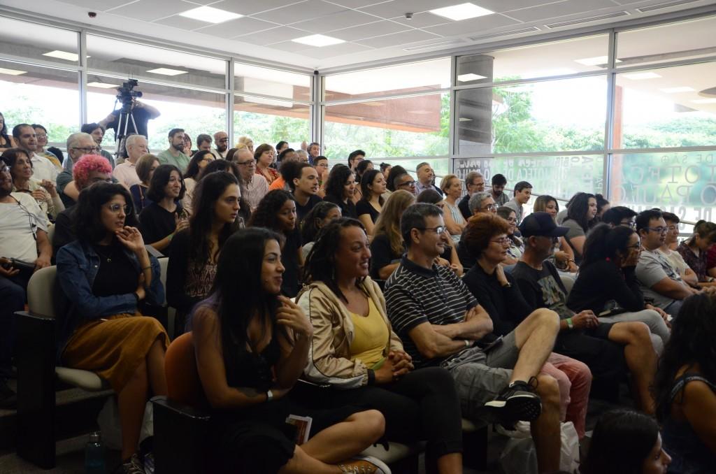 O auditório encheu para assistir ao bate-papo especial com Drauzio Varella. Foto: Equipe SP Leituras