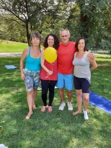 Marinyl, Amanda, José Carlos e Silmara. Foto: Equipe SP Leituras.