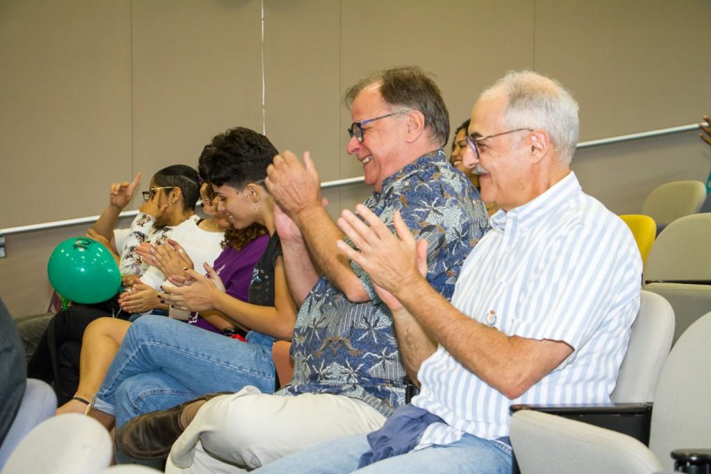 Bate-papo especial na programação de aniversário de 10 anos da BSP foi muito aplaudido. Foto: Paulo Matheus