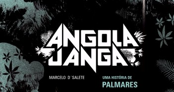 Detalhe da capa de 'Angola Janga:^Uma História de Palmares'
