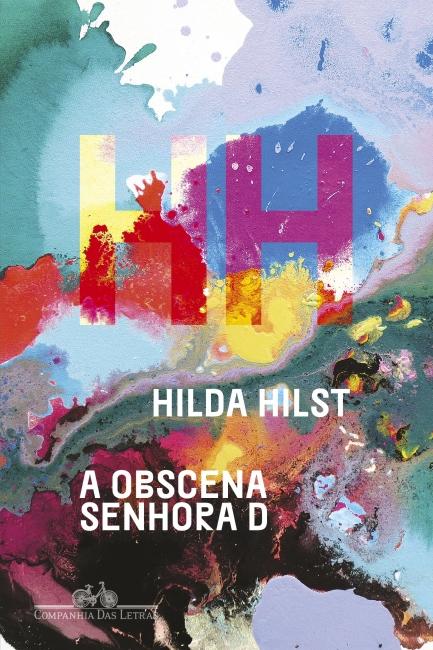 Capa do livro A obscena senhora D