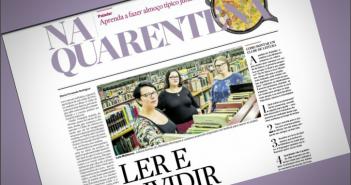 Clubes de Leitura online da BSP e da BVL ganham destaque no Estadão