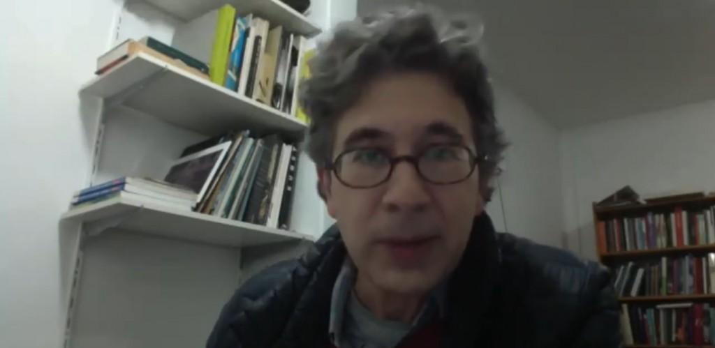 O jornalista e poeta Heitor Ferraz Mello. Foto: Reprodução