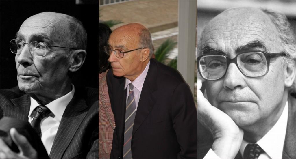 O escritor português José Saramago (1922-2010). Foto: Montagem/ Divulgação