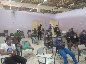 Foto: Equipe do Centro de Acolhida Zaki Narchi.