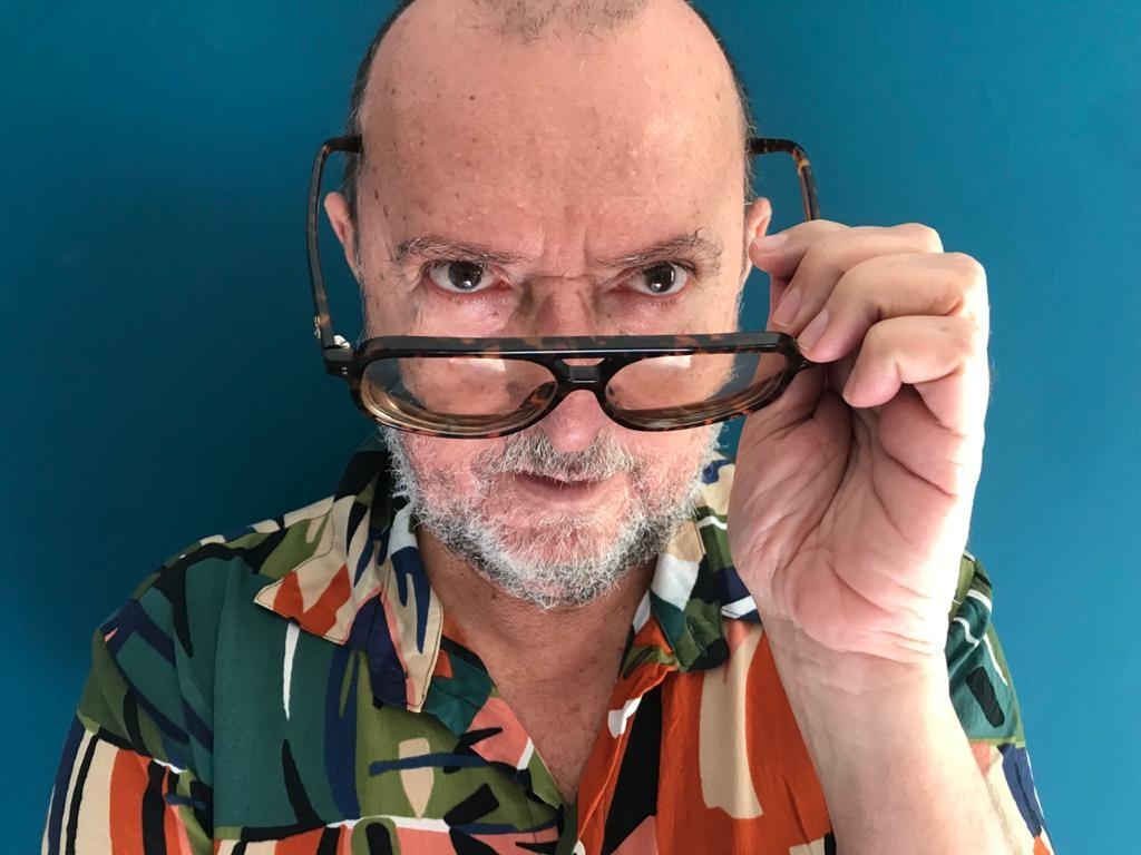O jornalista e cronista Xico Sá. Foto: LZ.