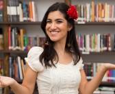 Marina Bastos conta a história do Saci na Hora do Conto Interativa