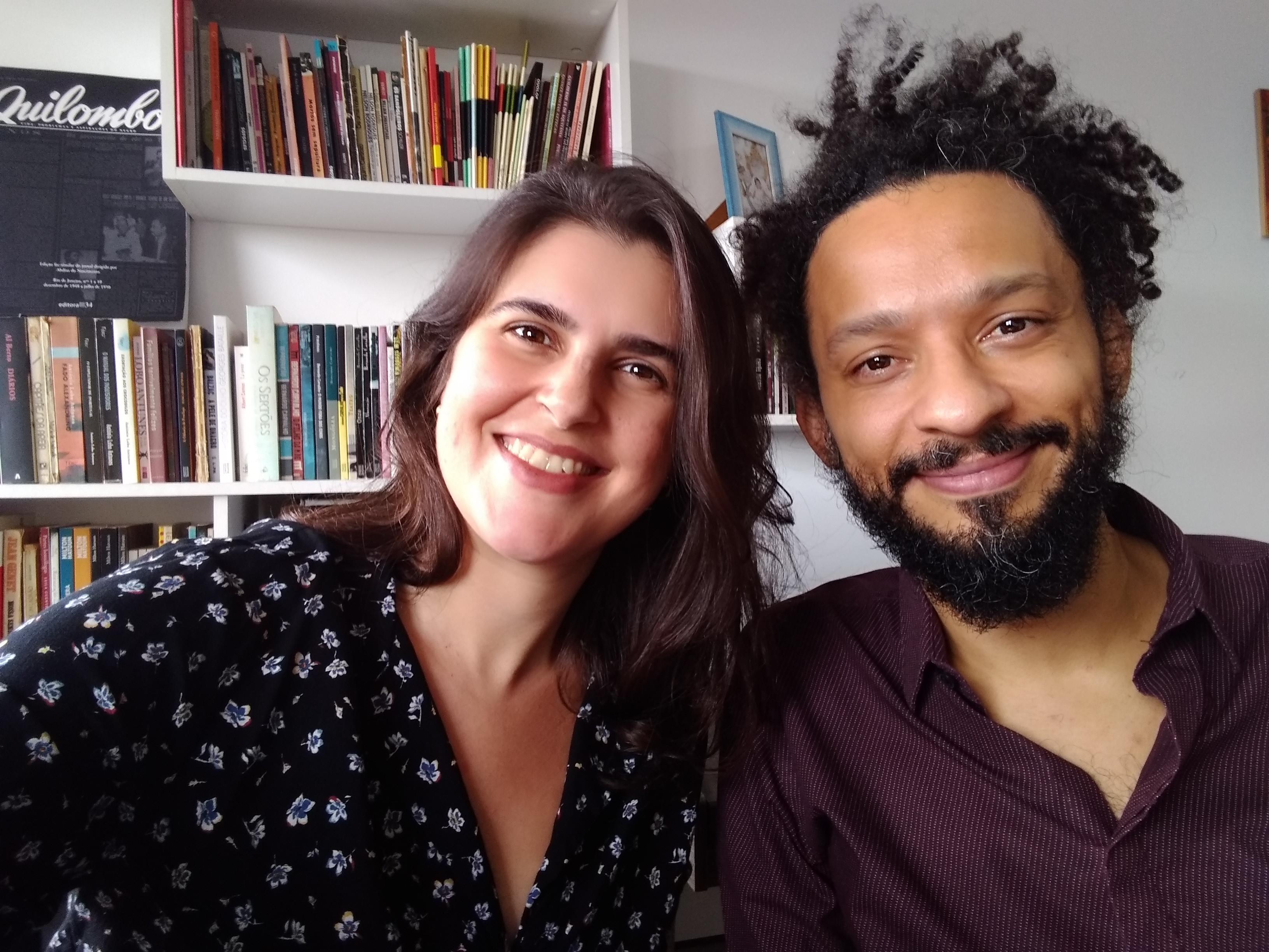 Milena Mulatti Magri e Gustavo Scudeller. Foto: arquivo pessoal.