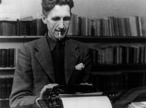 George Orwell, escritor e ensaísta nascido na India